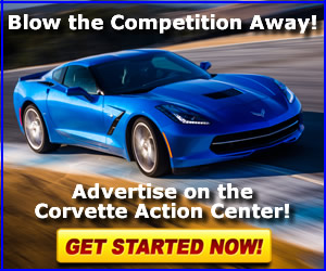 Advertise with the Corvette Action Center!