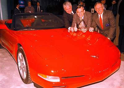 1998 Corvette - Car of the Year!