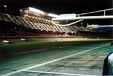 Night time at the 2002 24 Hours of Daytona