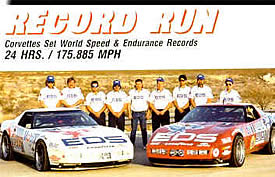 ZR-1 World Speed and International Endurance Records