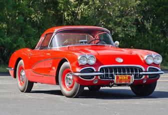 1960 Corvette Big Brake Fuelie Prototype