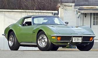 Elkhart Green 1972 Chevrolet Corvette For Sale   MCG Marketplace