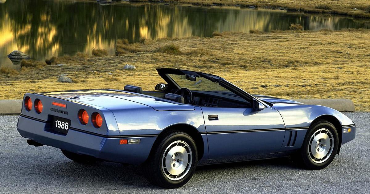 1986 Corvette Identification Numbers Corvette Action Center