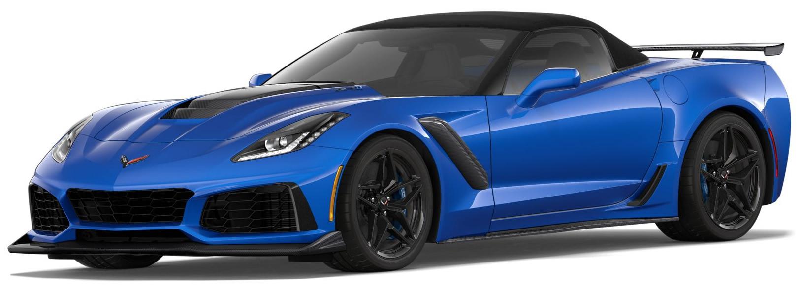 2019 Corvette Zr1 Convertible 1g1y53d9xk5802195 C7