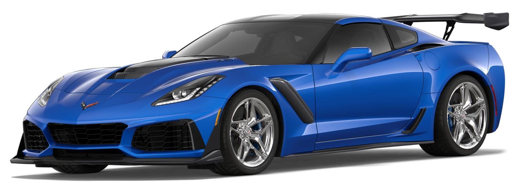2019 Corvette Zr1 Coupe 1g1y52d99k5801601 C7 Corvette