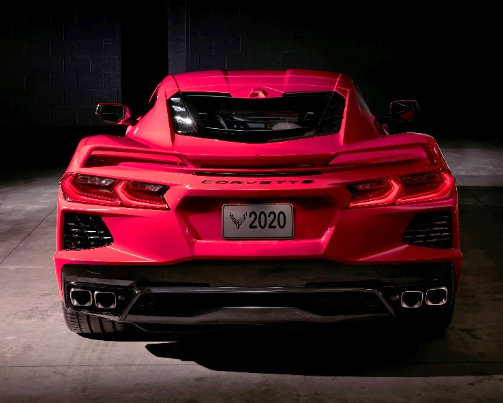 2020 Corvette: #20-NA-061: 2020 Chevrolet Corvette New Model Features