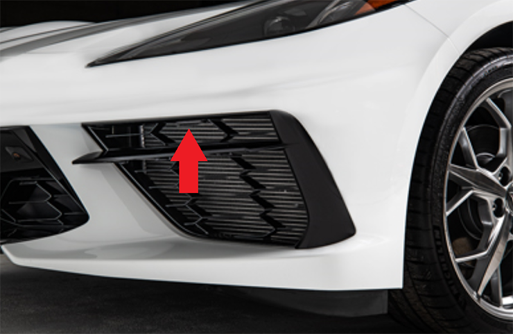 2020 C8 Corvette Hood Release