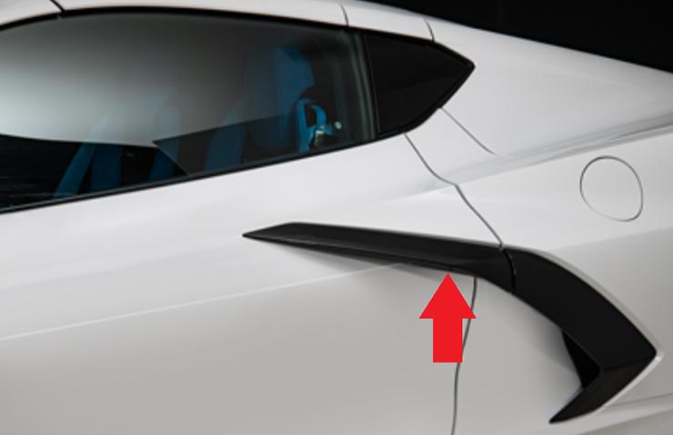 2020 C8 Corvette Door Release