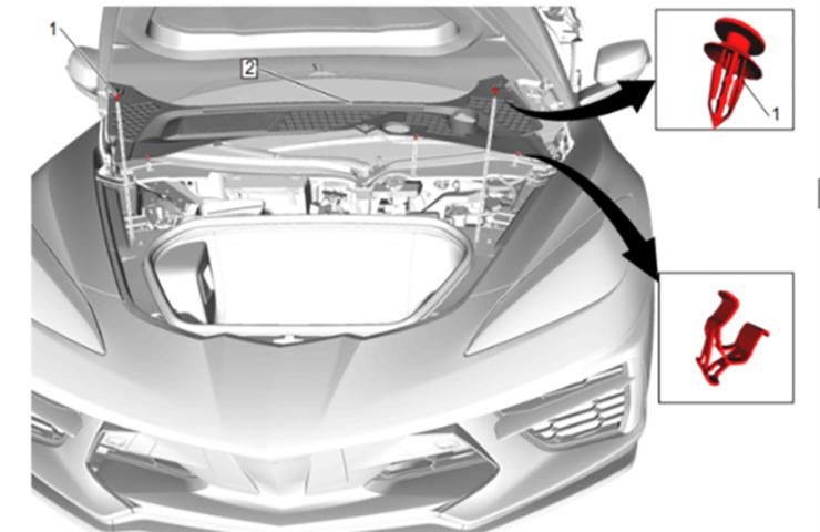 2020 C8 Corvette Battery Location
