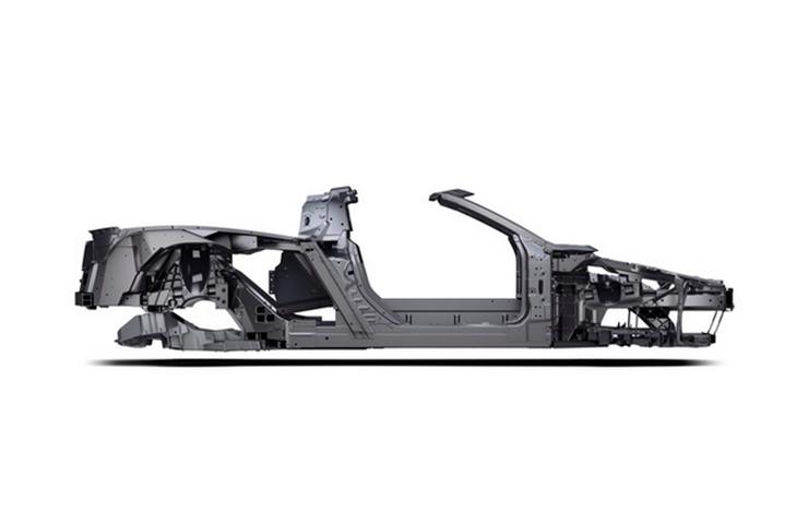 2020 C8 Corvette Frame