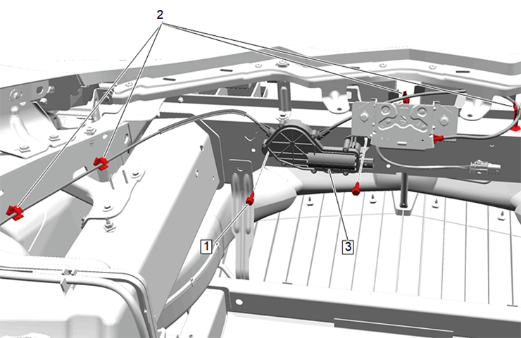 2020 - 2021 Corvette: GM TechLink: Inoperative Hood Release Buttons