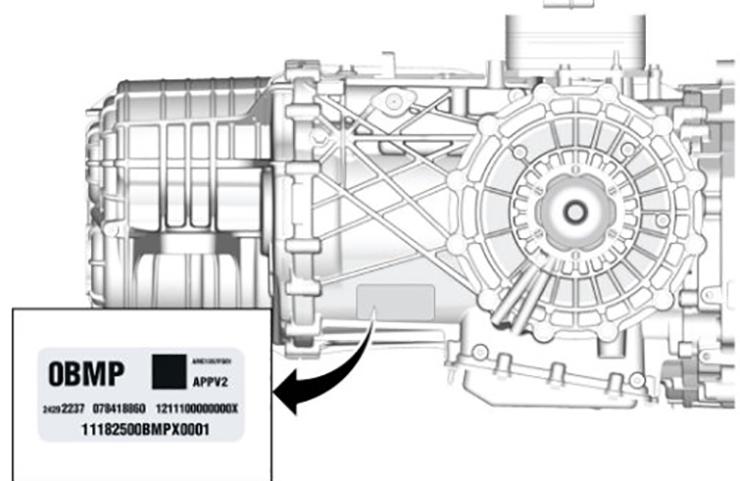 2020 Corvette Transmission Identification