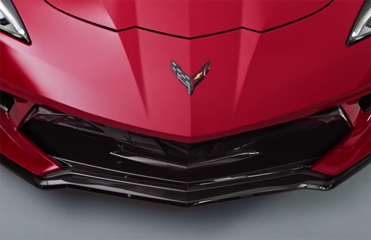 2020 Corvette Stingray Front-Eng