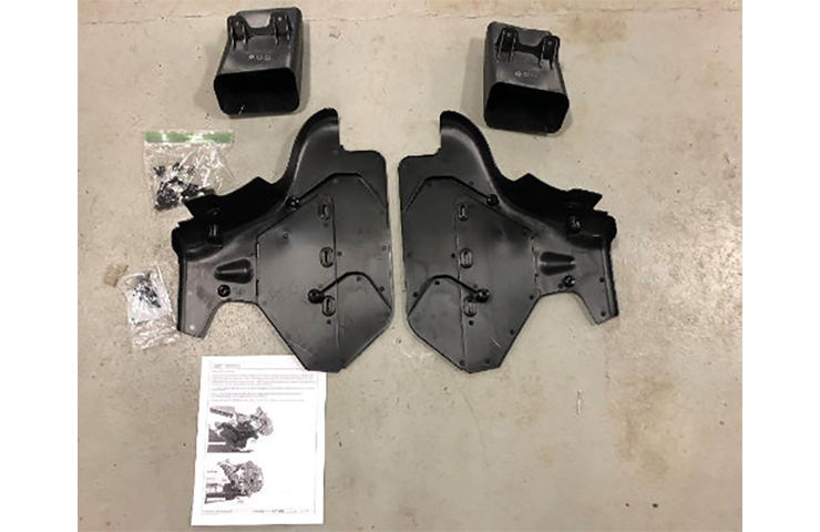 2020 Corvette Stingray Brake Cooling Ducts