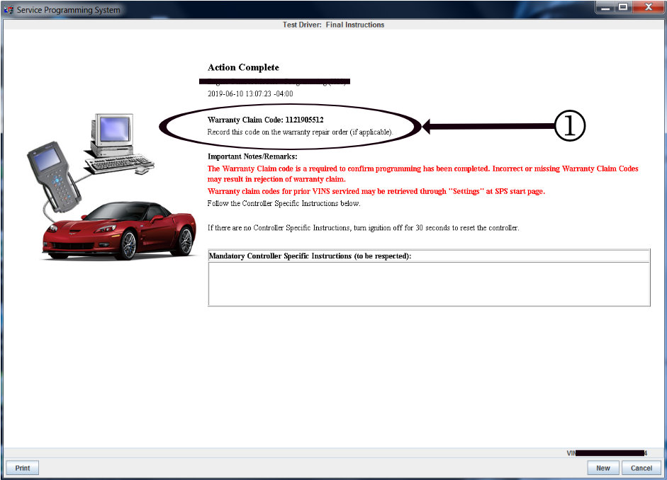 #N202309350: 2020 Corvette: Non-Compliance - Interior Trunk Release Button Inoperative Ten Minutes After Power Off