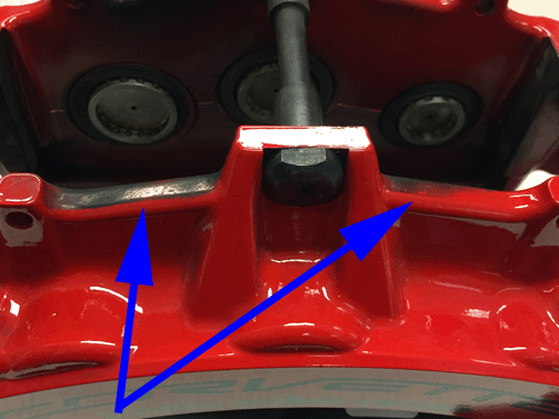#16-NA-059: Staining/Discoloring to Brake Caliper Paint - (Oct 14, 2020)