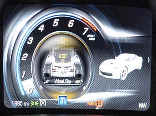 Corvette Digital Instrument Cluster