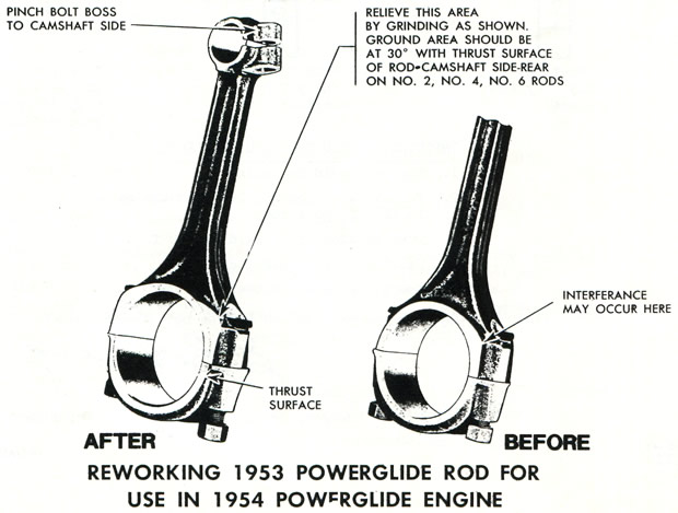 1954 Corvette Connecting Rods