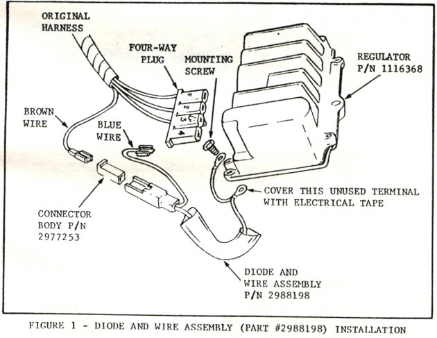 1965 corvette  service bulletin  transistorized voltage