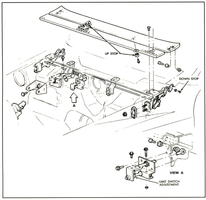 1968 Corvette Service Bulletin Windshield Wiper System