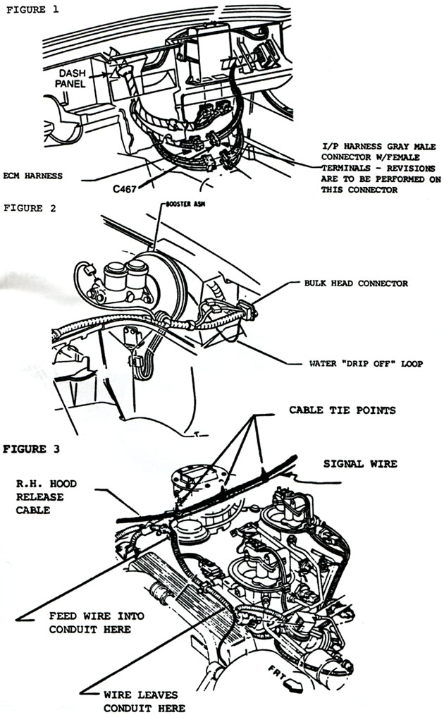 1984 corvette  service bulletin  engine stops running when