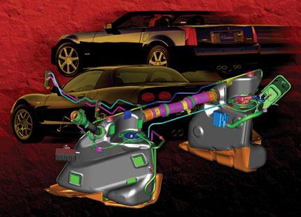 2003 2004 Corvette Gm Techlink Fuel Tank System