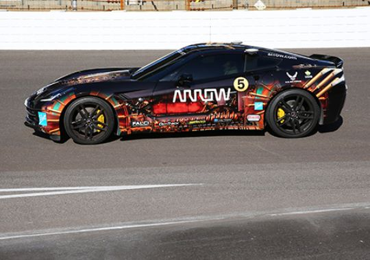 Sam Schmidt will unveil special Corvette at IMS