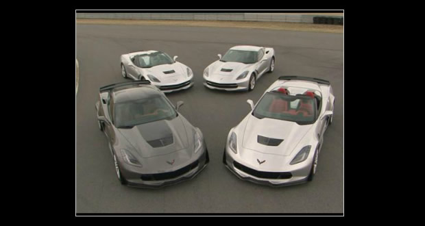 Video:  2015 Chevrolet Corvette Family