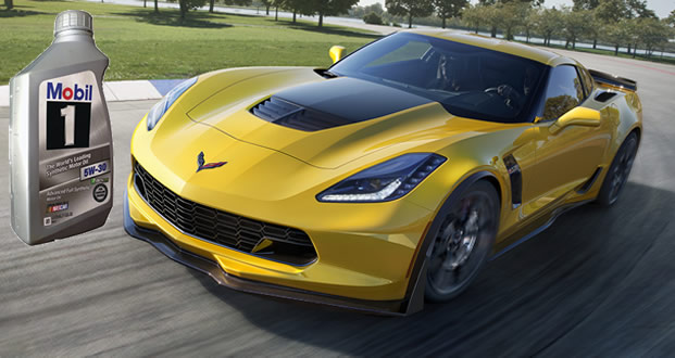 ExxonMobil Announces Mobil 1 Lubricants Technology Relationship for Chevrolet Corvette