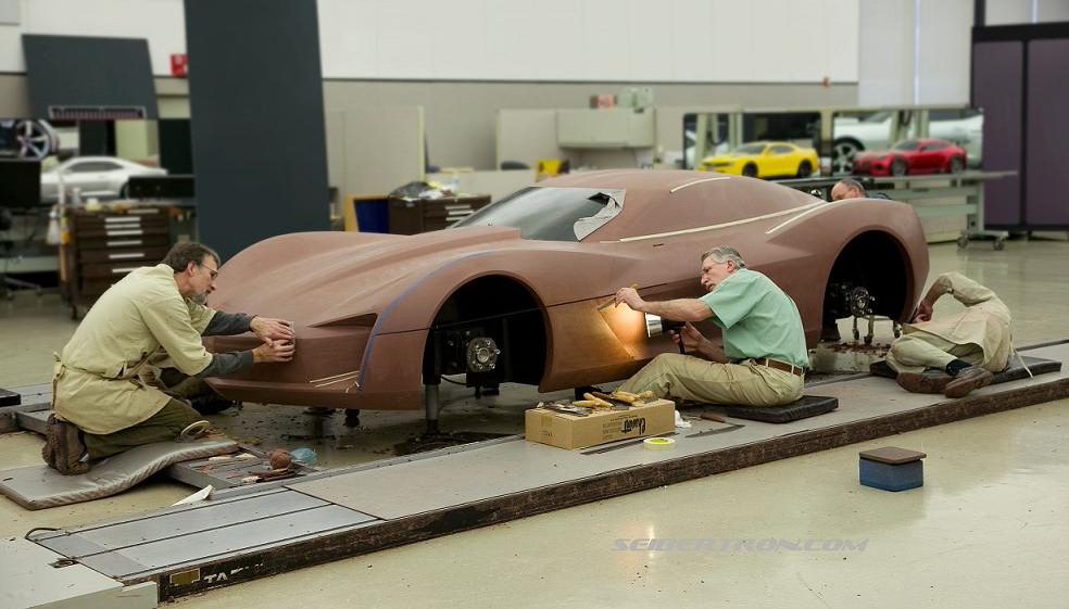 """Could a mid-engine Corvette called the """"Zora"""" be in the works? 