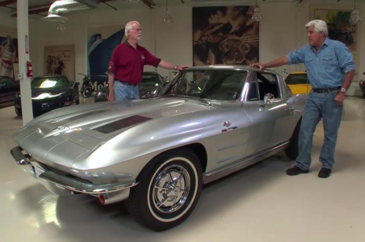 Jay Leno Reviews His 1963 Corvette Stingray