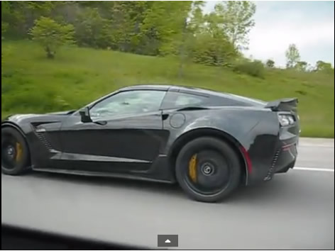 [VIDEO] 2015 Corvette Z06 Spotted Driving Down the Highway