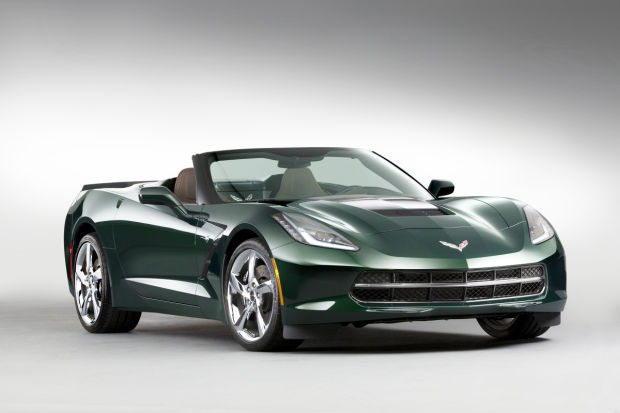Review:  New Corvette is best ever: With 455 horses and exotic looks, Stingray is a fast, wild ride