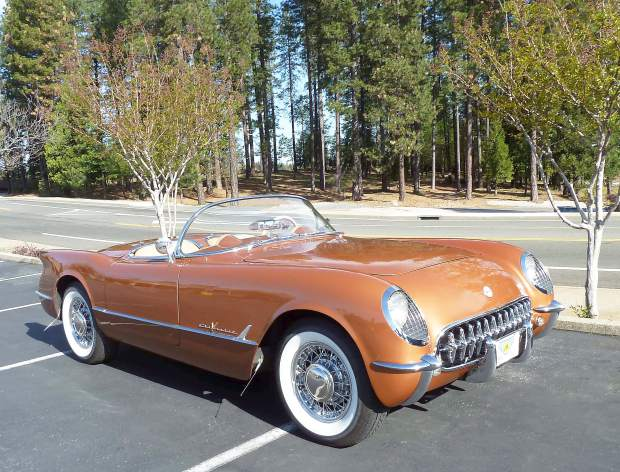 News:  Rare and Original 1955 Corvette