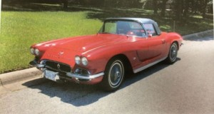 This 1962 Chevrolet Corvette was stolen earlier this month from a lot in southeast Calgary. (Calgary Police Service )