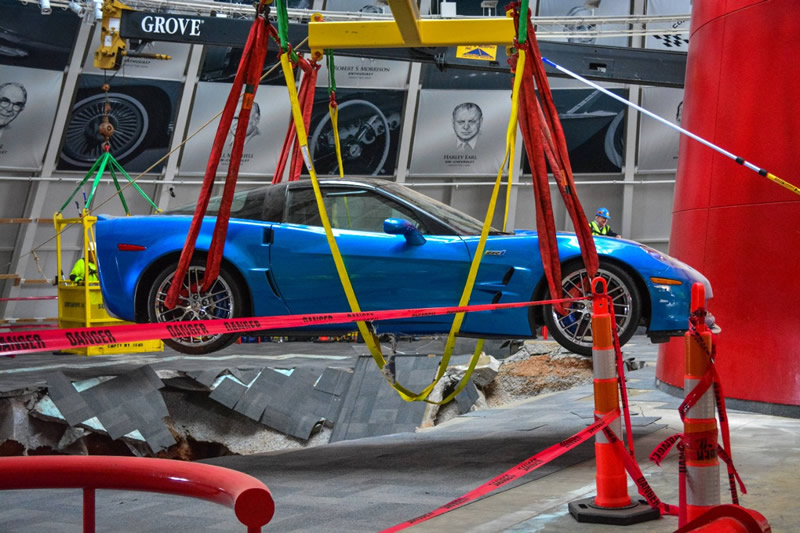 Three Museum 'Sinkhole' Corvettes to be Restored