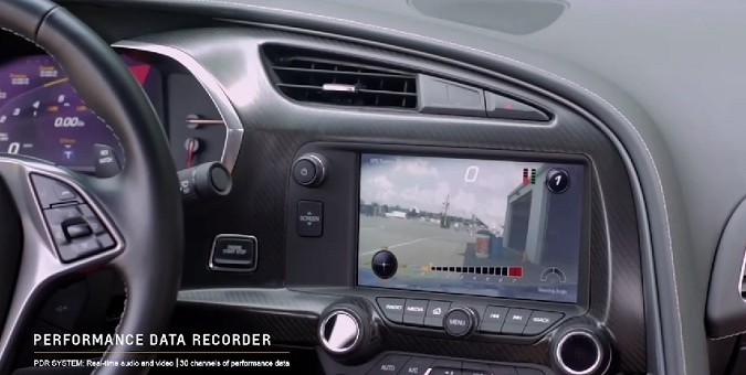 Ron Fellows, Tommy Milner Get Familiar With The 2015 Corvette's Performance Data Recorder