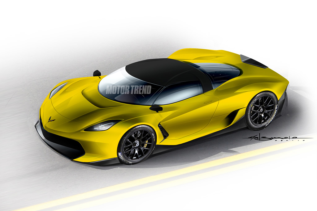 Scoop! Mid-Engine Chevrolet Corvette is a Go!