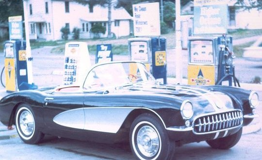 It all started with a '57 Corvette