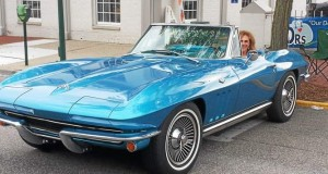 The 1965 Corvette Stingray belonging to a Rochester Hills couple is presumed stolen after Saturday's Woodward Dream Cruise. Photo submitted by Arlene and Gordon Ondrisek