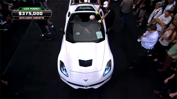 2015 Chevrolet Corvette Raises $400k for Charity – 2014 Barrett-Jackson Las Vegas