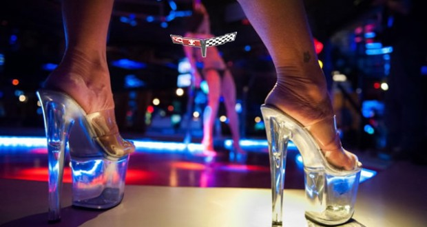 Homeless Man Swipes Corvette, Joyrides to Strip Club