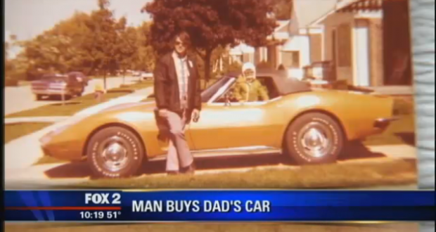 Son Buys Late Dad's 1973 Corvette Almost 40 Years After Mom Sold It