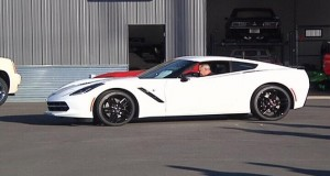 First 2015 Corvette Stingray home in Bozeman with David Ressler