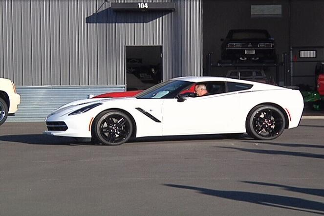 First 2015 Corvette Stingray home in Bozeman