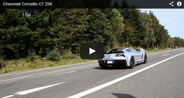 2015 Corvette Z06 Leaving a Gas Station!
