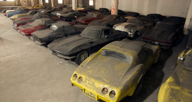 Peter Max Corvette Collection to be Restored