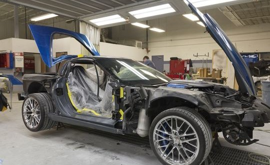 GM restores 'Blue Devil' ZR1 Corvette