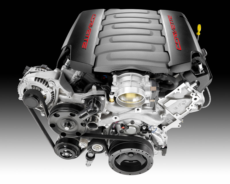 GM Press Release:  Corvette Engine Repeats Win as WardsAuto 10 Best