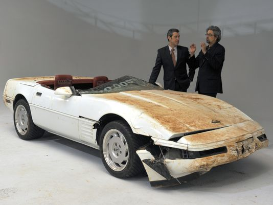 GM to restore 1 millionth Corvette damaged in sinkhole